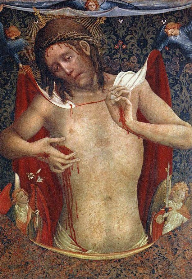 Man of Sorrows (Vir Dolorum) - Meister Francke -  WGA