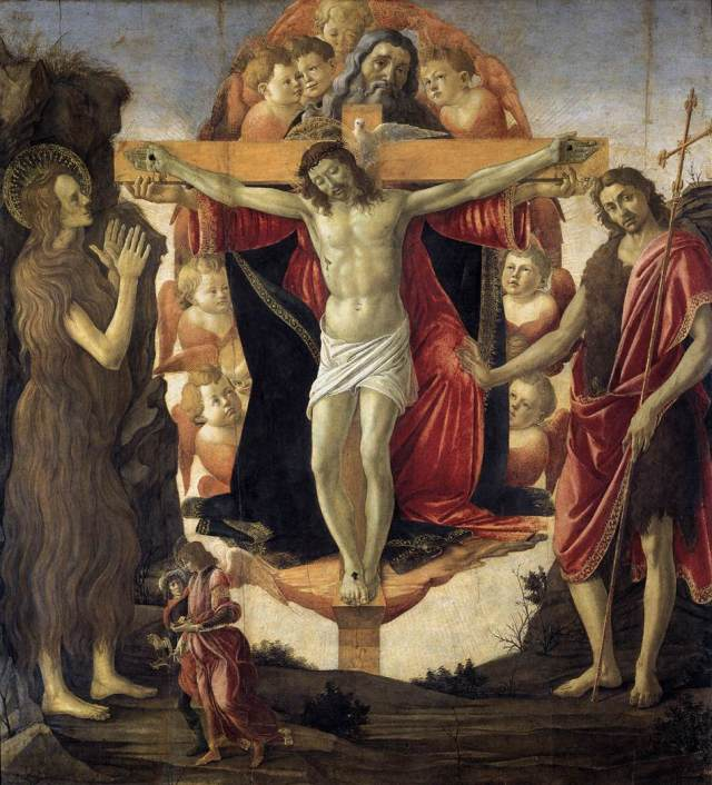 Holy Trinity Pala della Convertite - Sandro Botticelli, 1491-1493