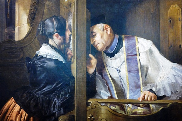 sacrament of penance - confession