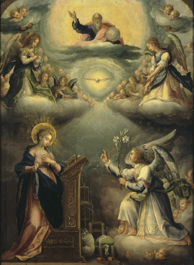 Annunciation Lucenti de Coreggio