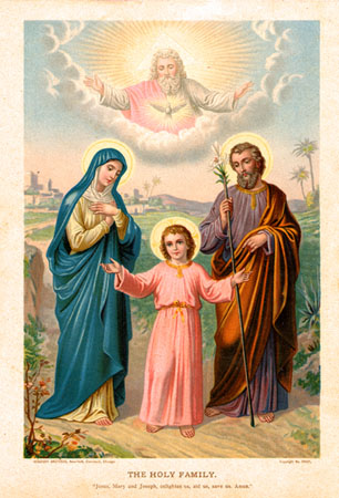 March 19 Feast of St Joseph Holy Family